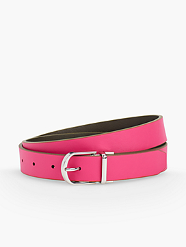 Leather Reversible Belt - Colors