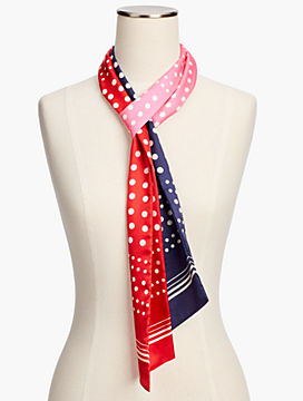 Square Dot Sash Scarf