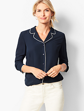 Lapel- Collar Top