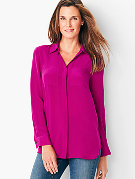 Washable Silk Top