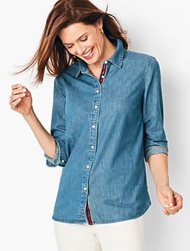 Classic Denim Cotton Shirt