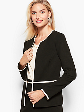 Italian Luxe Knit Jacket