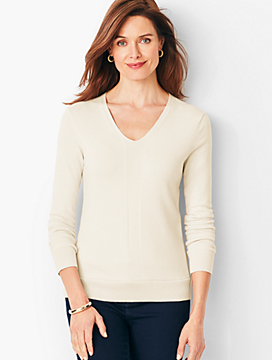 Modern V-Neck Sweater