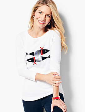 Novelty Crewneck Sweater