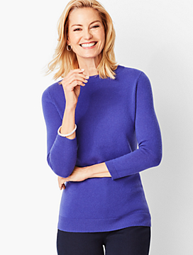 Audrey Cashmere Sweater - Solid