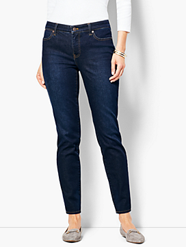 Slim Ankle Jean - Indy Wash