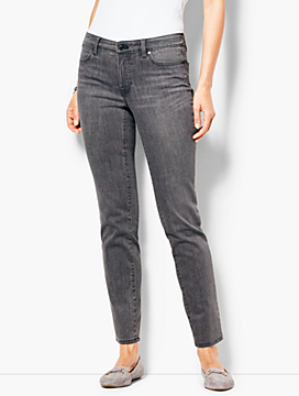 Slim Ankle Jean - Luna Grey