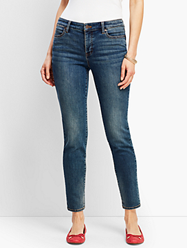 Denim Slim Ankle Jean - Baxter Wash