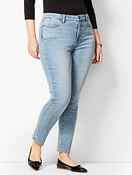 Slim Ankle Jean - Kasey Wash