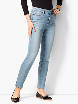 Slim Ankle Jeans- Kasey Wash