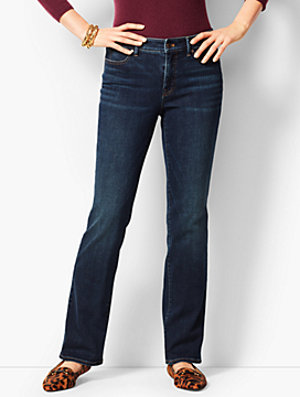 High-Waist Denim Barely Boot Jeans - Pioneer Wash