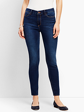 Comfort Stretch Denim Jeggings - Leo Wash