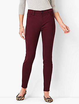 Comfort Stretch Denim Jeggings - Colored