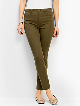 Denim Jegging - Bay Leaf