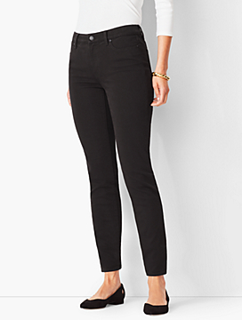 Slim Ankle Jean - Never Fade Black