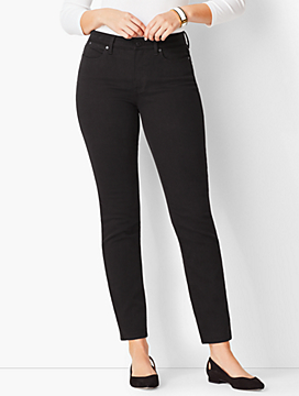 Slim Ankle Jean - Curvy Fit/Never Fade Black
