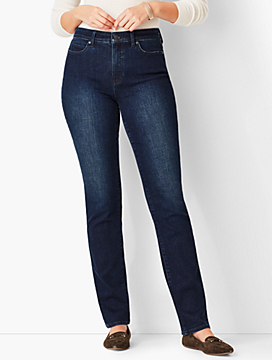 High-Rise Straight-Leg Jean - Curvy Fit/Marco Wash