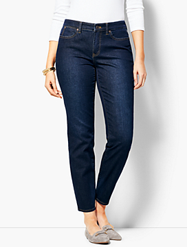 Slim Ankle Jean - Curvy Fit/Indy Wash