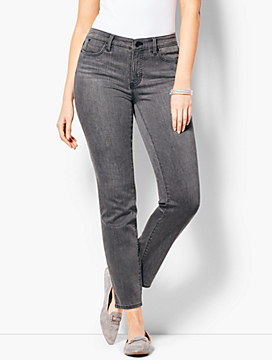 Slim Ankle Jean - Curvy Fit/Luna Grey