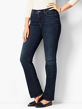 High-Rise Barely Boot Jeans - Curvy Fit/Pioneer Wash
