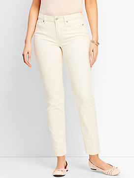 Denim Slim Ankle Jean - Curvy Fit/Vanilla