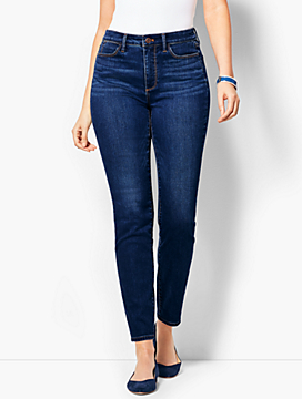 Comfort Stretch Denim Jeggings - Curvy Fit/Leo Wash