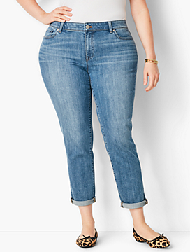 Plus Size Exclusive Girlfriend Jean - Curvy Fit/Cosmo Wash