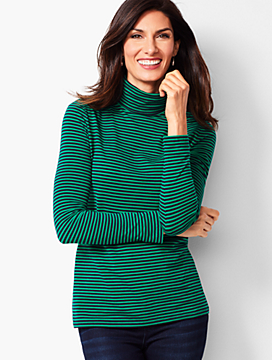 Turtleneck - Juniper Stripe