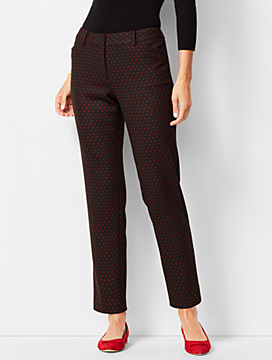 Talbots Hampshire Ankle Pants - Dot