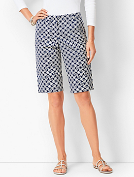 Perfect Bermuda Shorts - Geo Print