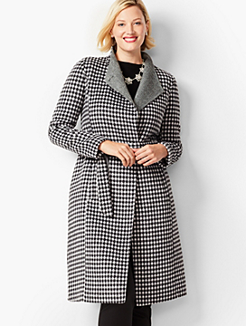 Double-Face Belted Coat