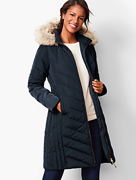 Down Puffer Jacket - Long