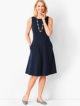 Fit & Flare Knit Dress