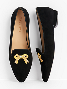 Edison Embroidered Flats