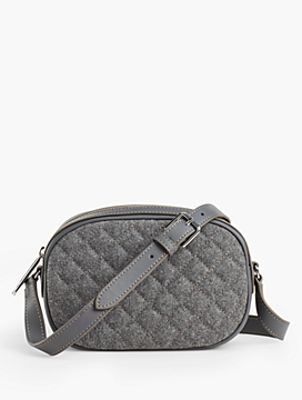 Quilted Flannel Crossbody Bag - Flannel