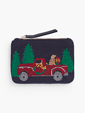 Novelty Pouch - Red Truck