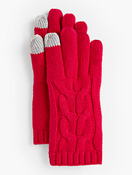 Soft Cable Touch Gloves