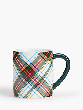 Tartan Plaid Holiday Mug