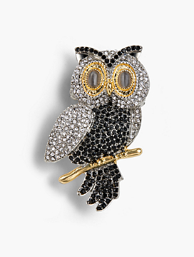 Holiday Brooch Collection - Snowy Owl