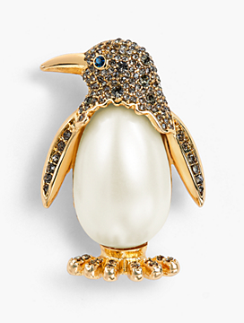 Holiday Brooch Collection - Penguin