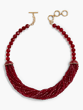 Torsade Statement Necklace
