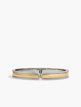 Two-Tone Rope Bangle