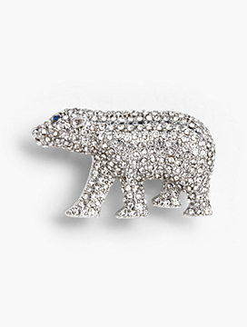 Holiday Brooch Collection - Polar Bear