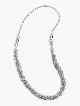 Wear-Two-Ways Faceted Bead Necklace