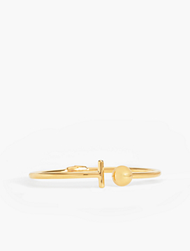 Bangle - 14K Gold-Plated