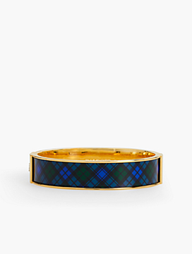Black Watch Plaid Bangle