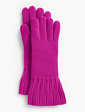 Ruffle-Edge Gloves