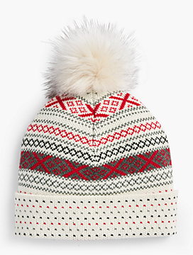 Fair Isle Winter Hat