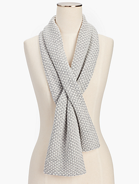 Textured Pull-Through Scarf