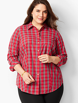 The Perfect Shirt - Plaid